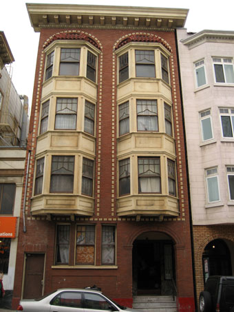 Old Exterior view for the San Francisco Multifamily project by KG Bell